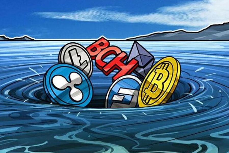 仮想通貨大暴落!リップルさんついに33円を切る