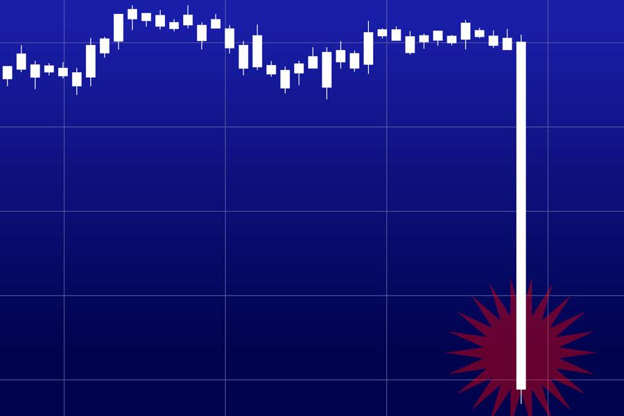 【悲報】 仮想通貨が突然の暴落 ガクトコインは一時マイナス23%に